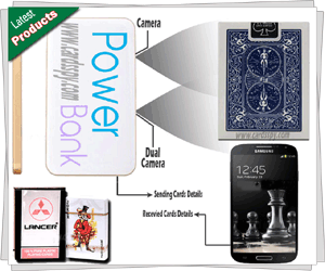 Power Bank Playing Card Device